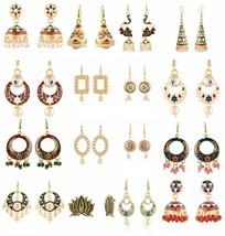 Wholesale 16 PCs Combo Indian Handmade Women Fashion Jewelry Earrings - $39.99