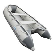 BRIS 10.8 ft Inflatable Boat Dinghy Pontoon Boat Tender Fishing Raft image 2