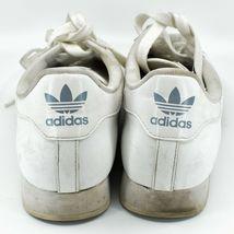 Adidas Samoa Women's White Lace Up Athletic Sneaker Shoes Size 10 G20682 image 4