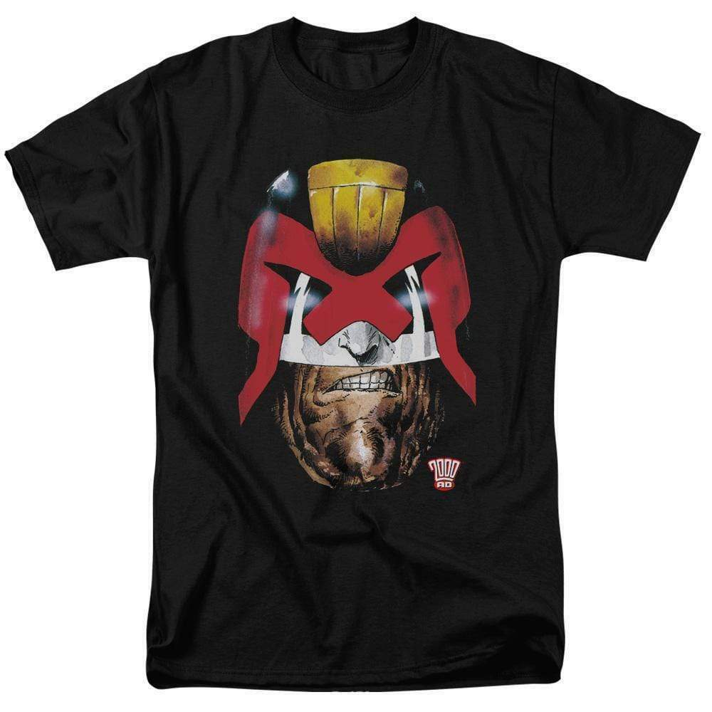 Judge Dredd T Shirt 2000 AD retro vintage comic book graphic tee 70s 80s JD100
