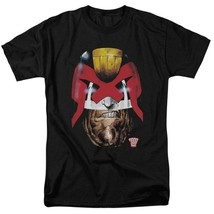 Judge Dredd T Shirt 2000 AD retro vintage comic book graphic tee 70s 80s JD100 image 1