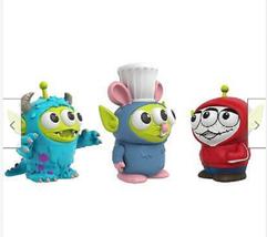 3-Pack Miguel Sulley Remy Figures Mattel Disney Toy Story Pixar Alien Remix - $16.00