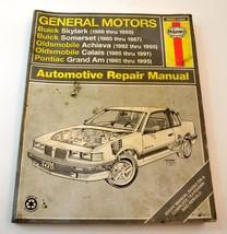 Haynes Repair Manual For 1985 - 1995 GM N Body - Grand Am, Skylark, Achieva - $4.99