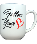 Follow Your Heart Mug - £10.89 GBP