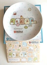 Sumikko Gurashi Limited Plate &  sticker PIZZA-LA collab San-x Kawaii JA... - $30.86
