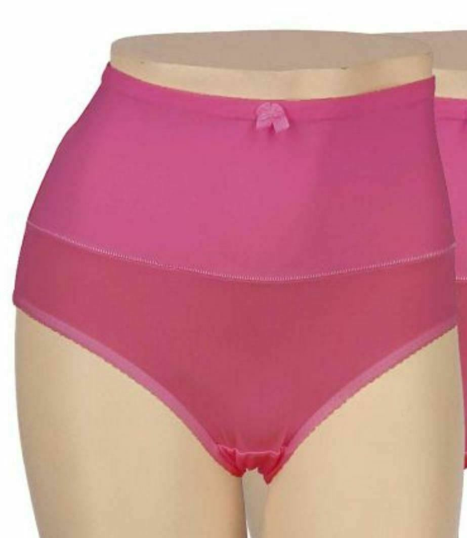 New Carol Wior Microfiber Belly Band Shapewear Brief Panty Qty 6 Assorted Size L image 4
