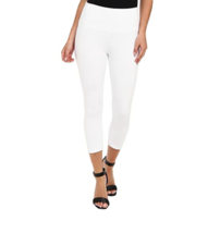 LYSSE Britt Stretch Twill Ankle Pant White Size S - $29.69