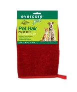 Evercare Pet Hair Pic-Up Mitt 1pc Cleaning Dog Grooming Supplies 9x6in R... - $9.89