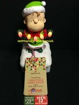 Hallmark 2015 Peanuts Gang Linus Christmas Light Show Wireless NWT - $89.99