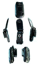 Samsung GUSTO 3 SM-B311V Leather Case Belt Clip Skin Holster phone Cell Holder - $47.24