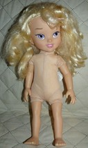 """Disney Cinderella cloth body and pvc arms legs and hands NUDE 16"""" - $12.70"""