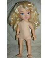 "Disney Cinderella cloth body and pvc arms legs and hands NUDE 16"" - $12.70"