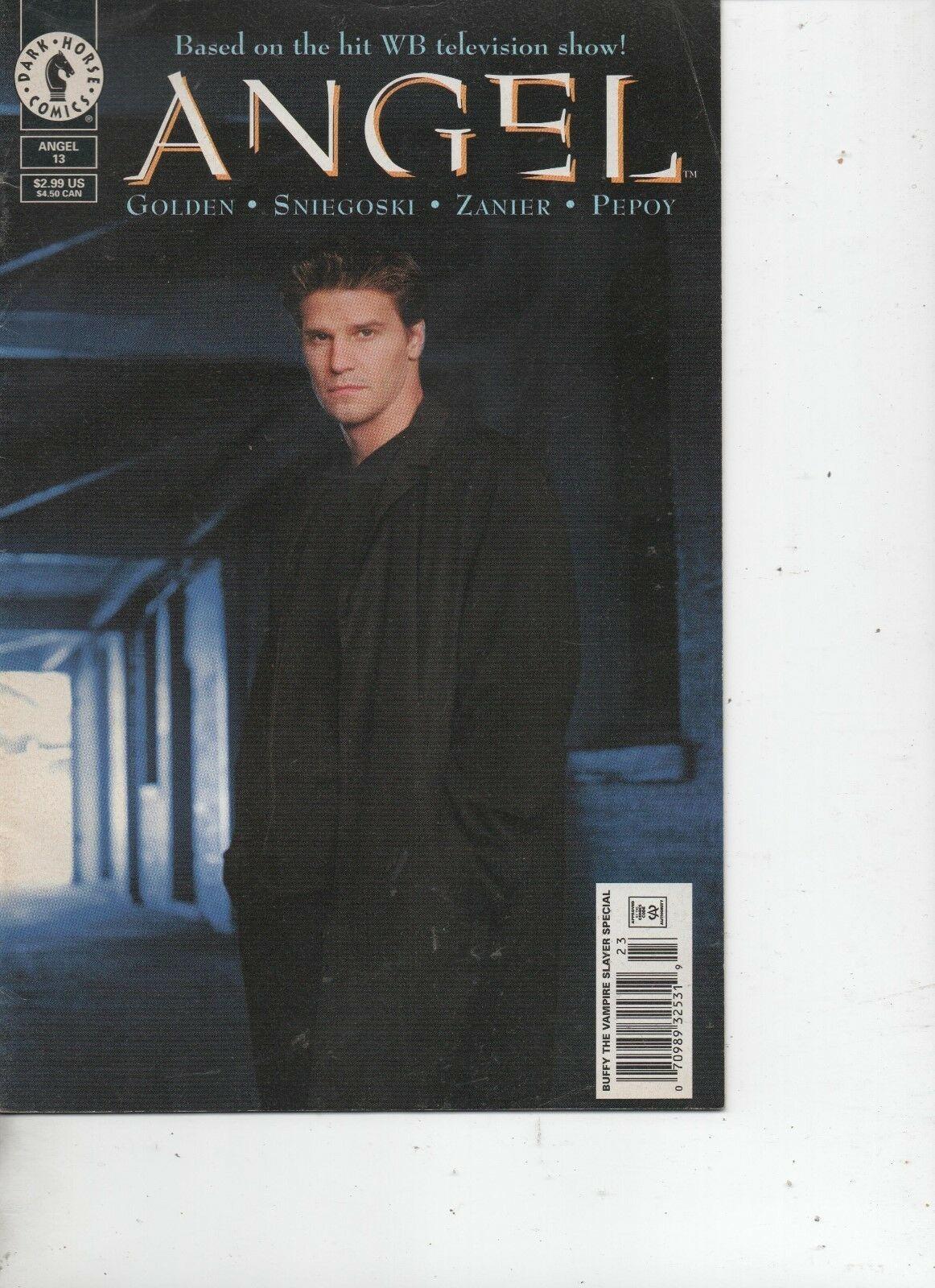 Angel #13 - Dark Horse Comics - November 2000 - Christian Zanier, Andrew Pepoy.