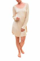 For Love & Lemons Mujer Emanuelle Sleep Nightie Cream PVP 131 € BCF79 - $40.66