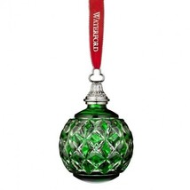 Waterford 2016 Annual Green Cased Ball Ornament New In Box # 40015787 - $193.05