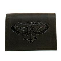 NBA Atlanta Hawks Tri-Fold Black Leather Wallets Official Licensed Series - $11.87