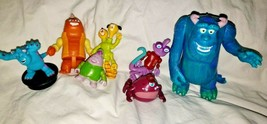 "Disney Monsters Inc Figures Lot of 7 1.5"" - 5"" Figures Cake Toppers Toys PVC - $2.99"