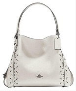 Coach f22794 Edie 31 Shoulder Bag With Prairie Rivets NWT - $217.79