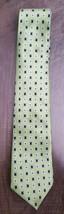 Bardelli Roma Green Designer 100% Italian Silk Neck Tie Hand Sewn Made i... - $6.92