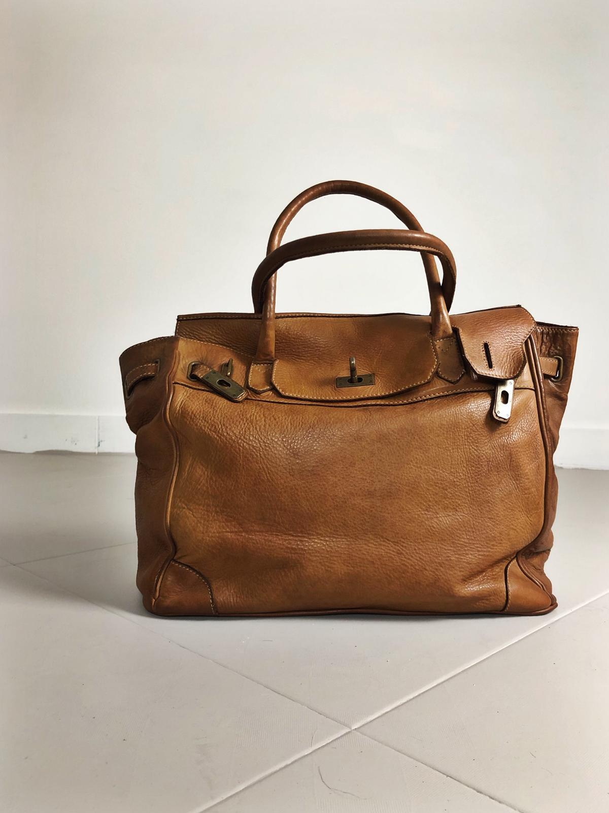 CLOSER BAG handmade leather bag