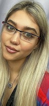 New Mikli by ALAIN MIKLI M0937 M 0937 0001 52mm Semi-Rimless Eyeglasses Frame  - $69.99