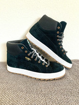 Puma Suede Mid Winterized Lace Up Womens Trainers Leather Black 359029 0... - $52.46
