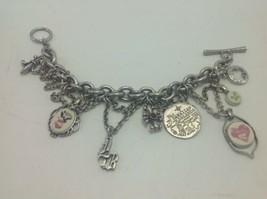Lucky Brand Charm Bracelet Vintage Chunky Hawaii Hawaiian Islands Fleur ... - $38.69