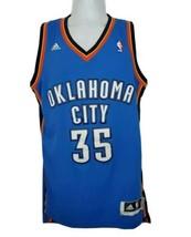 Oklahoma City Thunder Keve Durant Jersey Adidas #35 Size Small + 2 Blue - $49.49