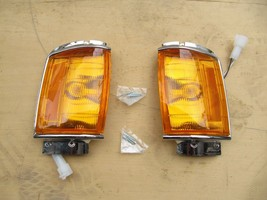 FIT FOR Toyota Hilux Pickup 4Runner 1984-86 Chrome Corner Light Lamp Ind... - $33.89