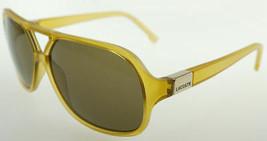 LACOSTE Yellow / Brown Sunglasses L502S 250  - $77.91
