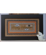 Two Ghosts One Spider halloween cross stitch chart AnnaLee Waite Designs  - $9.00