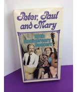 Peter, Paul and Mary - 25th Anniversary Concert (VHS, 1990) Rhino - $9.49