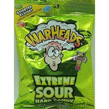 Warheads Extreme Sour Hard Candy Assorted Flavors: 12 Packs Of 2 Oz - Tj - $29.54