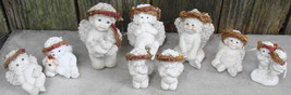 Lot of 9 Dreamsicles Small and Medium Size Cherubs - $23.00