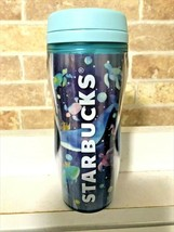 Starbucks Japan LTD Bottle Hologram Whale 355ml 2020 SUMMER New Blue Sea Dolphi - $61.20