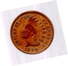 1899 Indian Head Cent Circulated abt Extremely Fine - $8.99