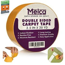 Melca Double Sided Gripper Tape - Rug / Carpet - 2.5 Inch 20 Yards