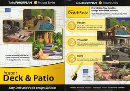 Turbo Floorplan Instant Deck & Patio v12 (PC-CD, 2007) 2000/XP/Vista -NE... - $5.98