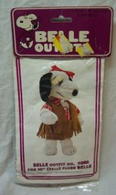 Peanuts Snoopy 1958 BELLE GIRL WESTERN COWGIRL OUTFIT For Plush Dog TOY NEW - $24.74