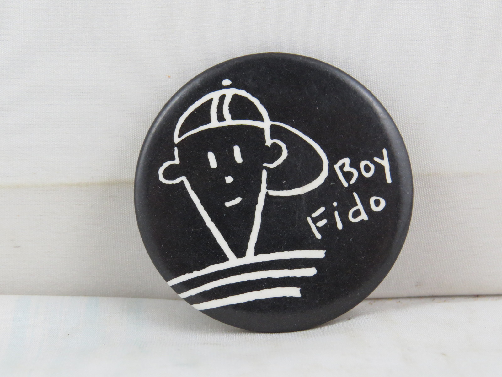 Primary image for Vintage Soda Pin - Boy Fido 7 Up - Celluloid Pin