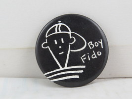 Vintage Soda Pin - Boy Fido 7 Up - Celluloid Pin  - $19.00