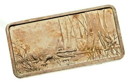 Del Hamilton Casa de Moneda Barra Artístico 1 Oz. Plata Mystical Evergla... - $68.30