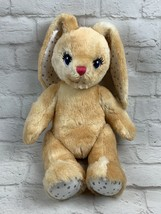 "Build A Bear BAB Bunny Plush Stuffed Animal With Stars 16"" Easter Gift - $20.74"