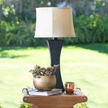 Kenroy Home Weaver Outdoor Table Lamp - 15W-inch Bronze - $355.68