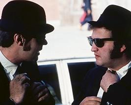 John Belushi and Dan Aykroyd in The Blues Brothers straighten ties weari... - $69.99