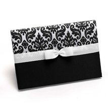 Hortense B. Hewitt Wedding Accessories Enchanted Evening Guest Book, Ebo... - $21.84