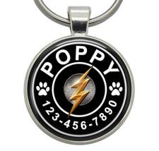 Pet ID Tags - The Flash (Marvel) - Dog ID Tags, Cat ID Tags, Pet Tags, D... - $19.99