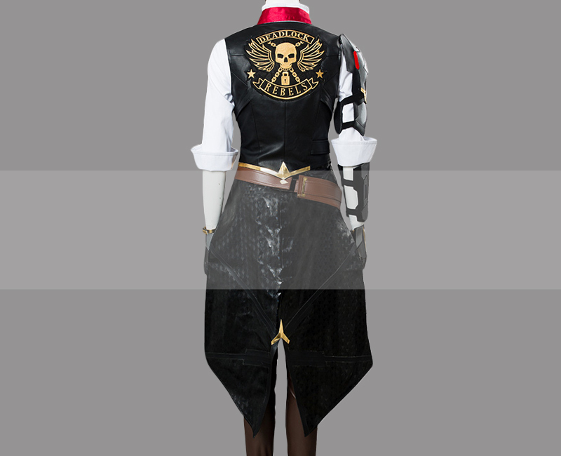 Overwatch Ashe Cosplay Costume Outfit for Sale