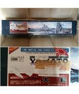 Missing items minimally assembled Nichimo 1/200 Battleship Yamato DISPLAY Kit - $313.50