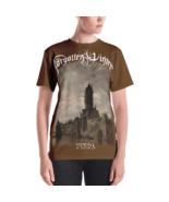 Forgotten Winter - Vinda [Brown t-shirt with long design / Women] - $37.00